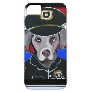 WEIMARANER PATROL OFFICER iPhone SE/5/5s CASE