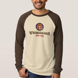 Weimaraner Paulaner Logo Warn T-Shirt