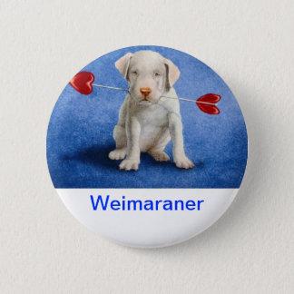 Weimaraner Pinback Button