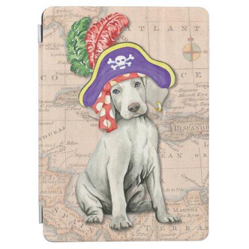 Weimaraner Pirate iPad Air Cover