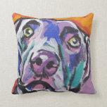 Weimaraner Pop Art Pillow