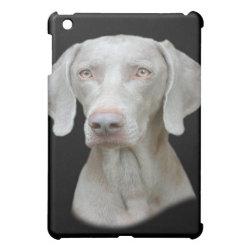 Case Savvy iPad Mini Glossy Finish Case with Weimaraner Phone Cases design