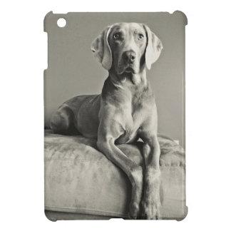 Weimaraner Portrait iPad Mini Covers