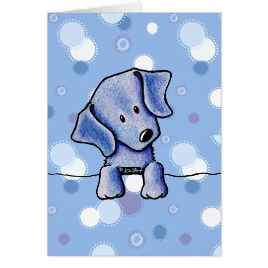 Weimaraner Puppy Card