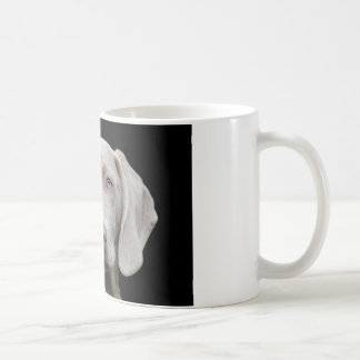 Weimaraner puppy eyes coffee mug