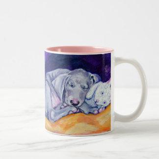 Weimaraner Puppy Mug