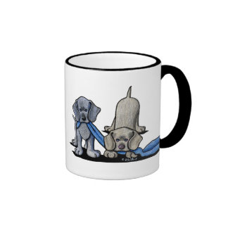 Weimaraner Puppy Coffee Mug
