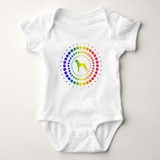 Weimaraner Rainbow Studs Infant Creeper