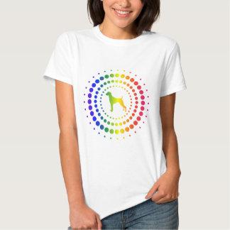 Weimaraner Rainbow Studs Shirt