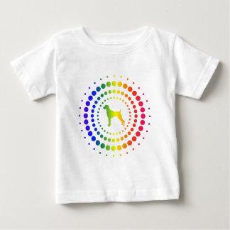 Weimaraner Rainbow Studs Tee Shirt