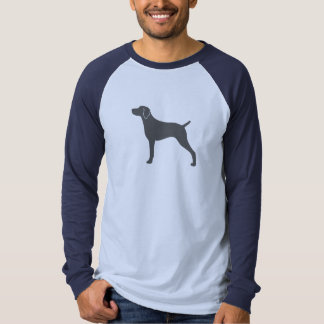 Weimaraner Silhouette T Shirt