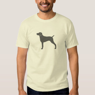 Weimaraner Silhouette Tee Shirt