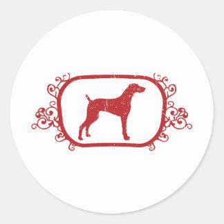 Weimaraner Sticker