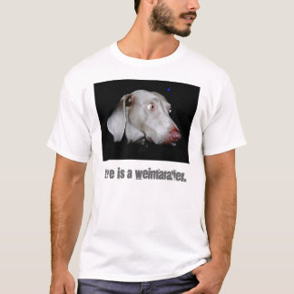 Weimaraner - The Gray Ghost T-Shirt