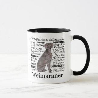 Weimaraner Traits Mug