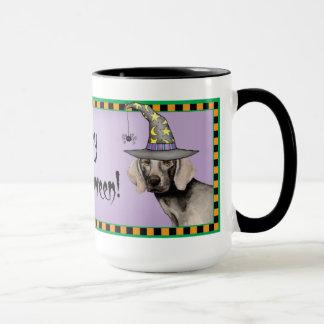 Weimaraner Witch Mug