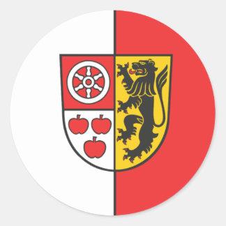 Weimarer Germany flag Round Sticker