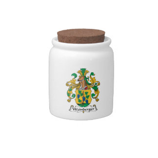 Weinberger Family Crest Candy Dish