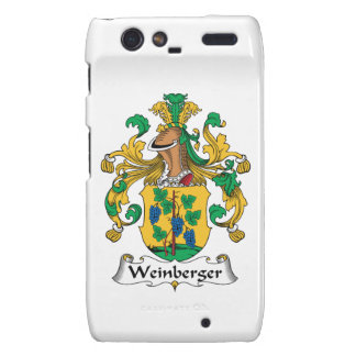 Weinberger Family Crest Motorola Droid RAZR Cover
