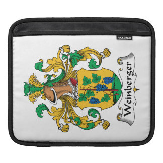 Weinberger Family Crest iPad Sleeves