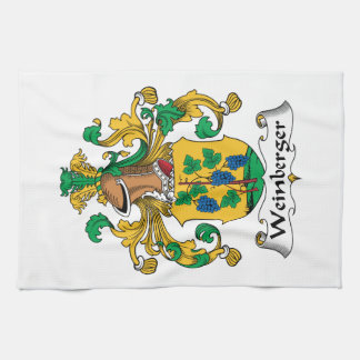 Weinberger Family Crest Towels