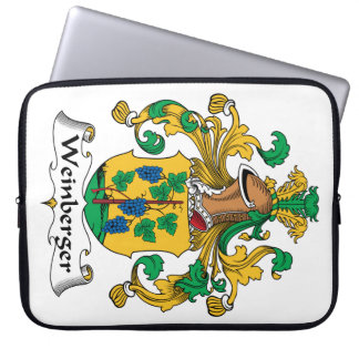 Weinberger Family Crest Computer Sleeves