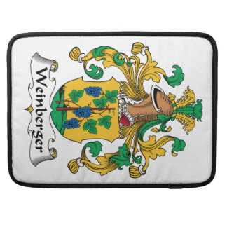 Weinberger Family Crest Sleeve For MacBooks