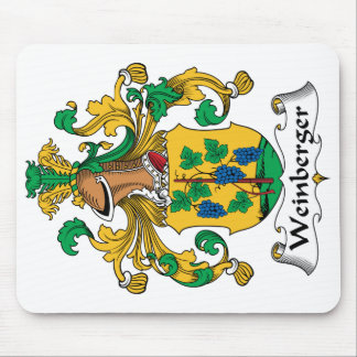 Weinberger Family Crest Mousepad
