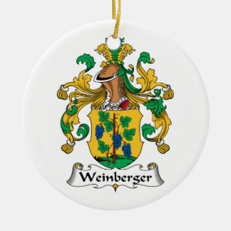 Weinberger Family Crest Ornament