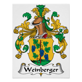 Weinberger Family Crest Print