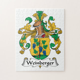 Weinberger Family Crest Puzzle