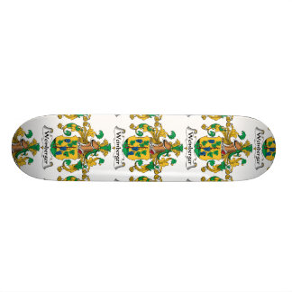 Weinberger Family Crest Skateboard