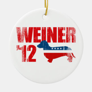 WEINER 12 Faded png Ornament