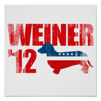 WEINER '12 Faded.png Poster