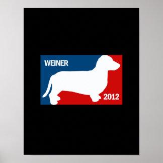 WEINER 2012 DE ANTHONY POSTER