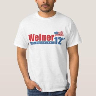 Weiner 2012 Inches Tee Shirt