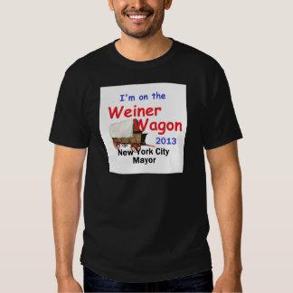 Weiner 2013 Mayor T Shirts