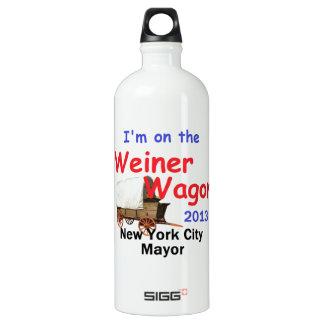 Weiner 2013 Mayor Water Bottle