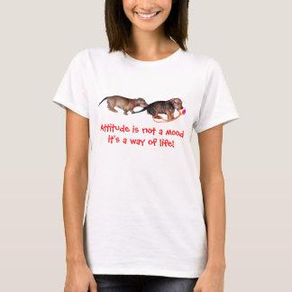 Weiner Dog Attitude T-Shirt