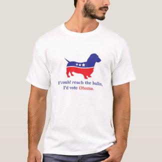 Weiner Dog, Dachshund 4 Obama T-Shirt