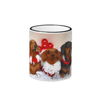 Weiner Dog Holiday Mug