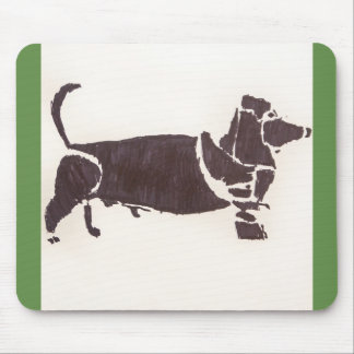 Weiner Dog Mouse Pad
