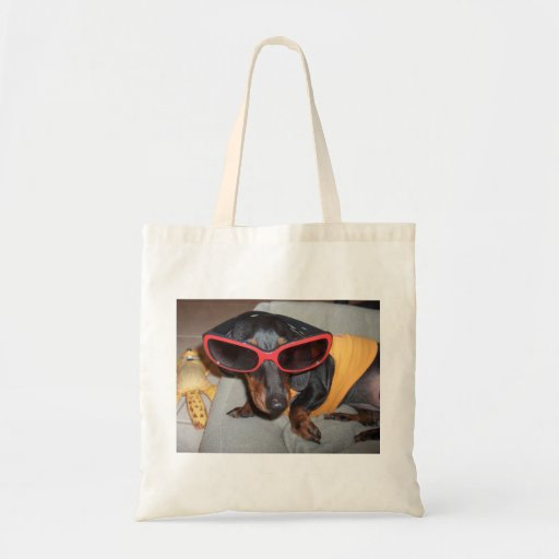 Weiner Dog Tote Bags