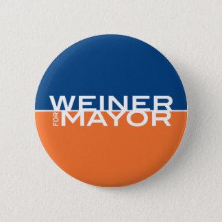 Weiner for Mayor Button