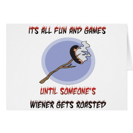 Weiner Gets Roasted Cards