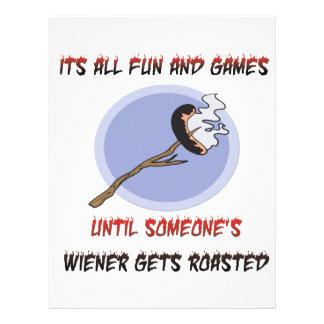 Weiner Gets Roasted Flyer Design