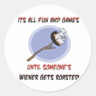 Weiner Gets Roasted Stickers