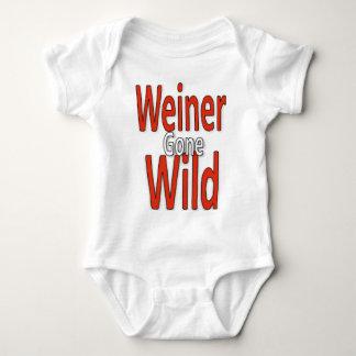 Weiner Gone Wild Baby Bodysuit