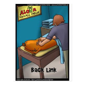 Weiner Massage aka Backlink Funny Gifts & Cards