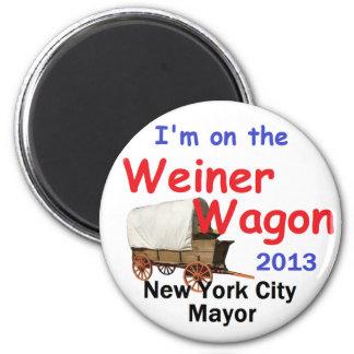 Weiner NYC Mayor 2013 Magnet